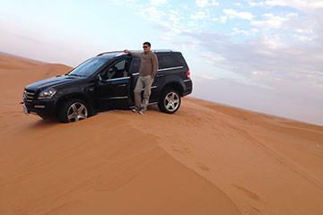 Adventure in Saudi Arabia